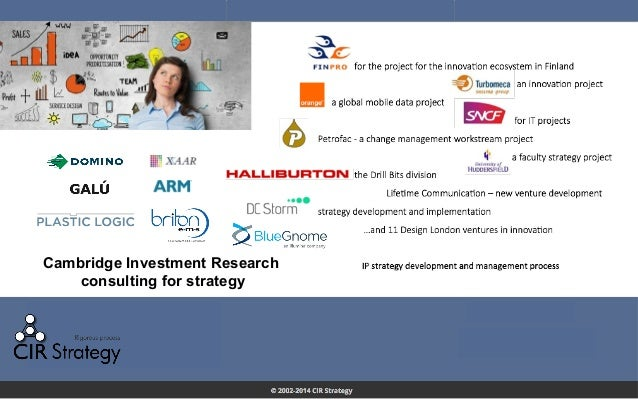 Cambridge Investment Research consulting for strategy