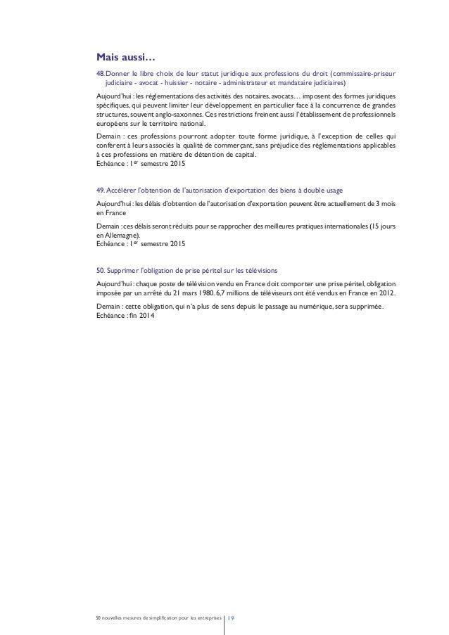 Dp simplification - 50 nouvelles mesures