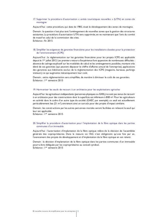 2 - Faciliter l'embauche et la formation.  Sécuriser les entreprises par rapport  à leurs obligations en matière de droit ...