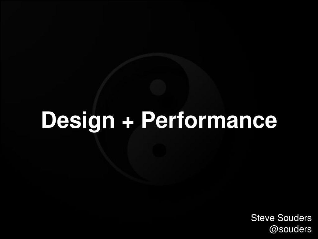 Design+Performance Velocity 2015