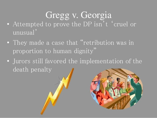 death penalty implementation Whereas recent empirical research reviewing all death penalty cases in the united states concluded that two thirds of the death penalty cases from 1973 to 1995 were.