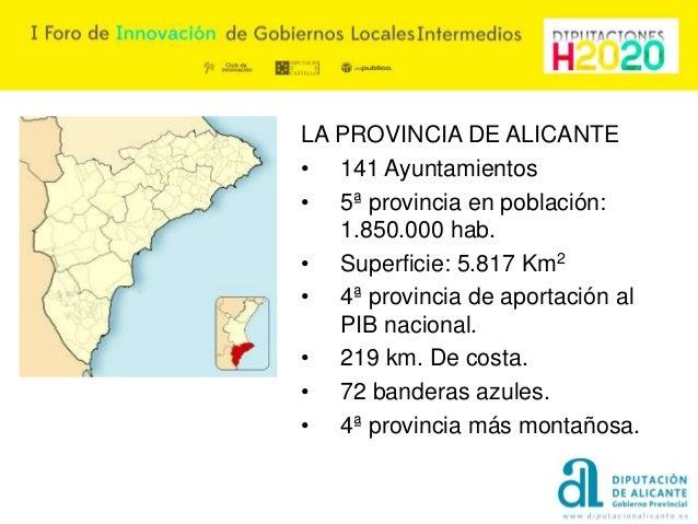 Hitos de gestión de la Diputación provincial de Alicante Slide 3