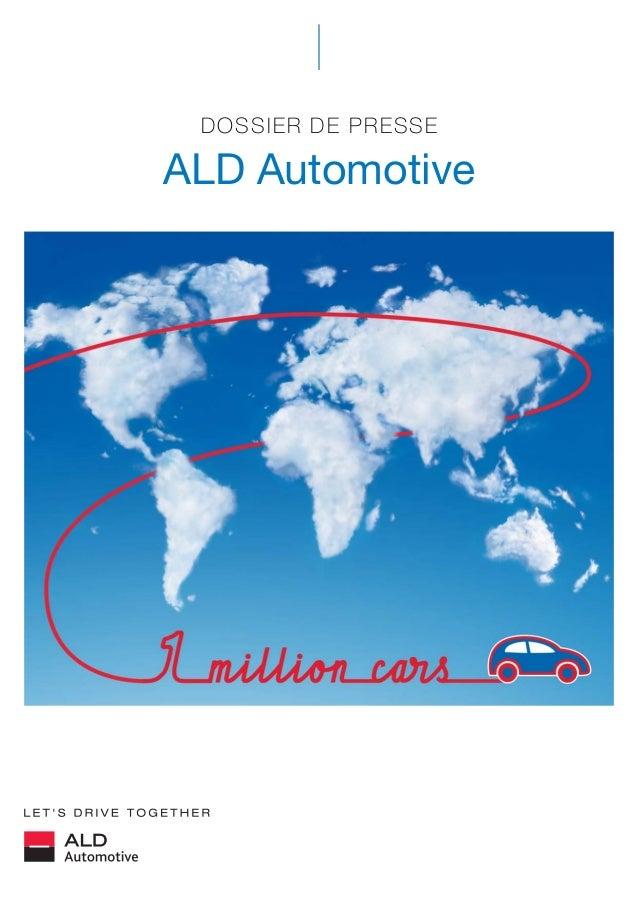 DOSSIER DE PRESSE ALD Automotive