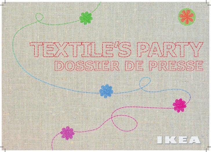 IKEA textile's party