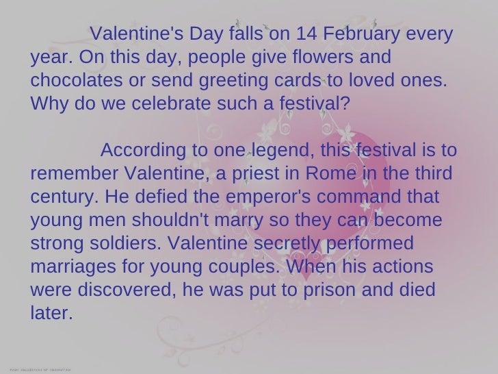 valentines - Why We Celebrate Valentine Day
