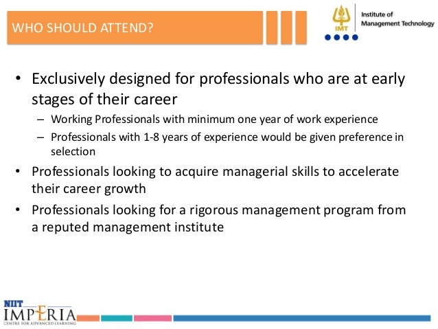 graduate programs for working professionals