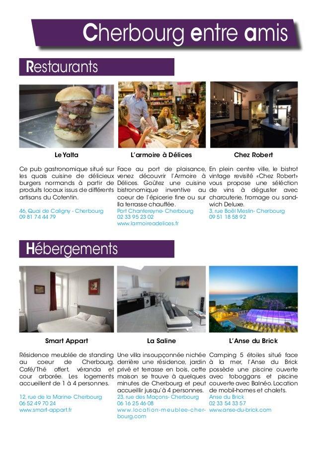 Cherbourg entre amis Restaurants Le Yalta Ce pub gastronomique situé sur les quais cuisine de délicieux burgers normands à...