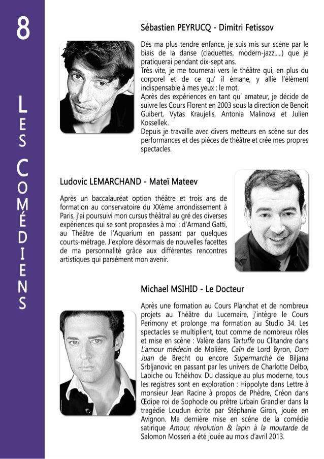 Dossier de Presse - Le Colonel Oiseau par la Compagnie des 2 Lunes