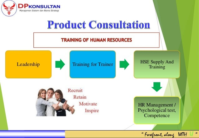 """Leadership Training for Trainer HSE Supply And Training HR Management / Psychological test, Competence """" Forefront, along ..."""