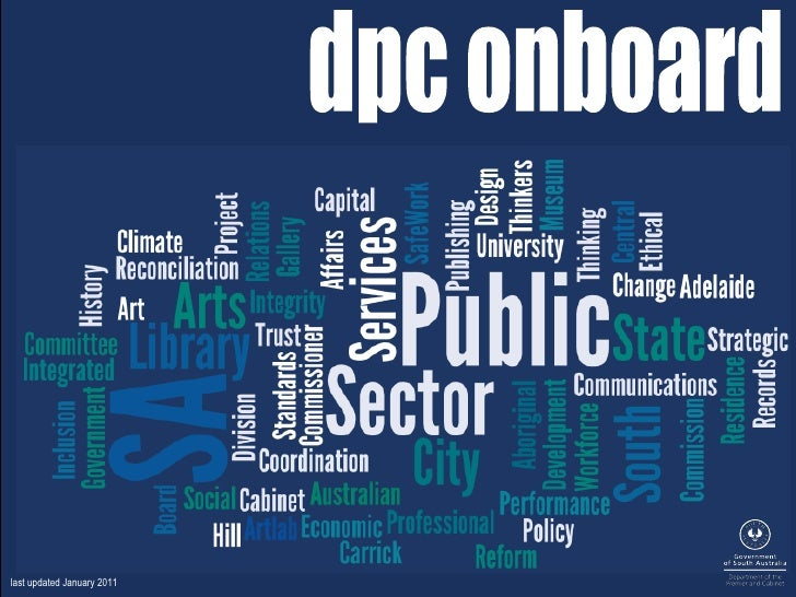 dpc onboard last updated January 2011