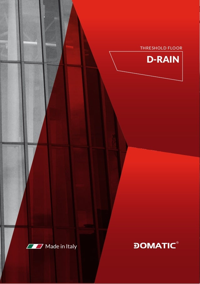 D-RAIN THRESHOLD FLOOR