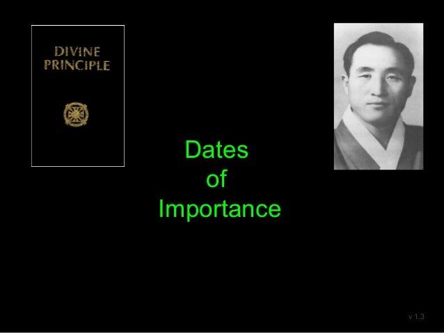 Dates of Importance v 1.3