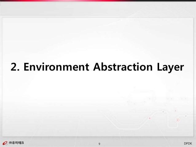 ㈜유미테크9㈜유미테크 DPDK 2. Environment Abstraction Layer