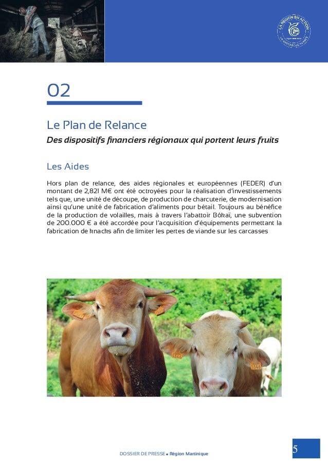 02 Le Plan de Relance Des dispositifs financiers régionaux qui portent leurs fruits  Les Aides Hors plan de relance, des a...