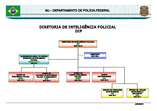 Organograma do departamento de pol cia federal for Oficina de policia