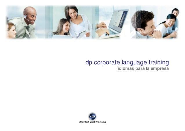 dp corporate language training idiomas para la empresa