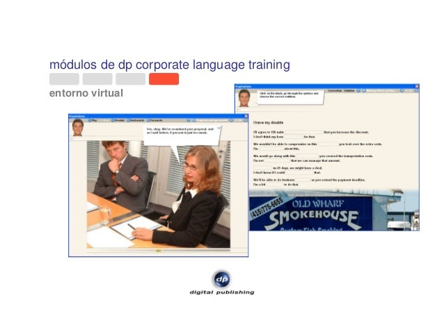 módulos de dp corporate language training entorno virtual