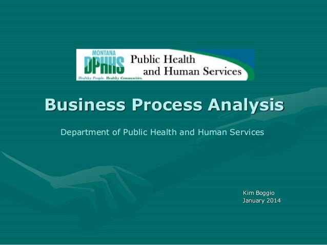 Business Analysis: Montana Dept Health & Human Services