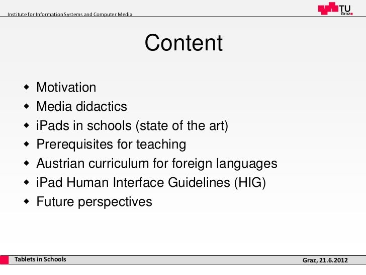 iPads in the Classroom Slide 2
