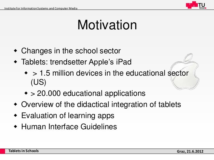 iPads in the Classroom Slide 3