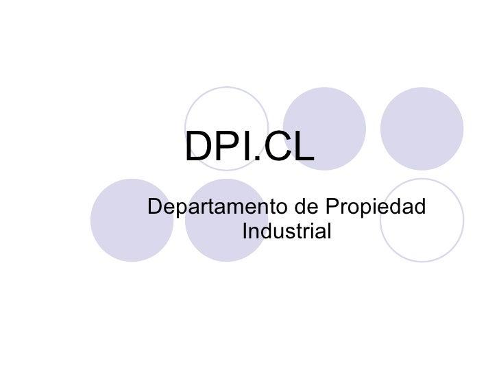 DPI.CL Departamento de Propiedad Industrial