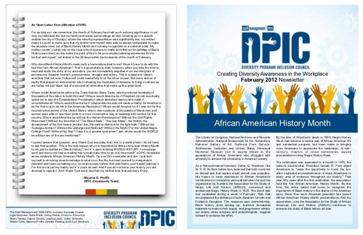An Open Letter from a Member of DPIC                 For as long as I can remember, the month of February has held such a ...
