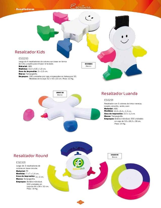 DPI Colombia] Catalogo ESCRITURA 2014 - 2015