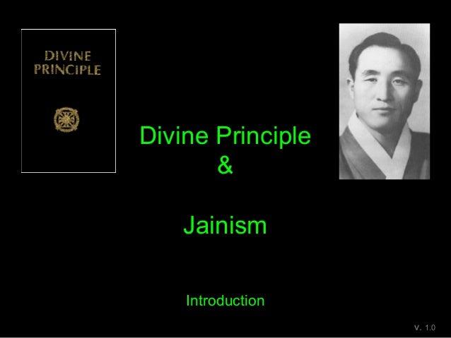 Divine Principle & Jainism Introduction v. 1.0