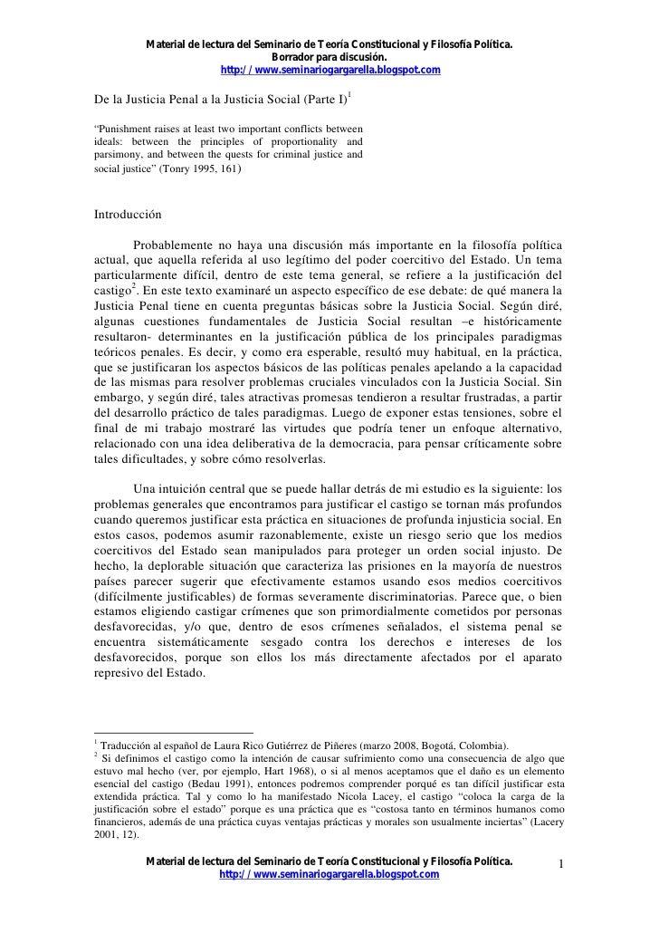 Material de lectura del Seminario de Teoría Constitucional y Filosofía Política.                                       Bor...