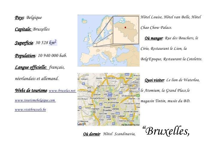 Pays: Belgique                                                       Hôtel Louise, Hôtel van Belle, HôtelCapitale: Bruxell...