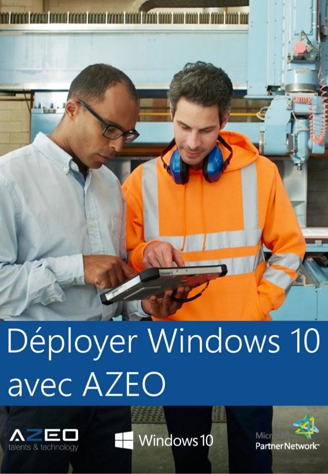 Adopter Windows 10 avec AZEO