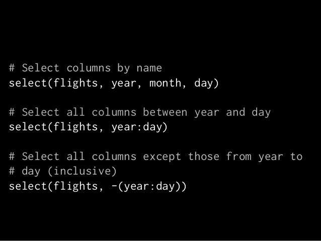 mutate  modify or create columns based on others