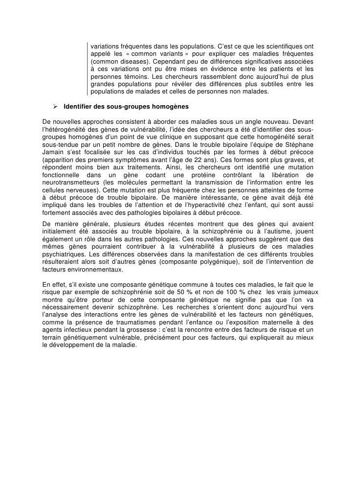 Le nouveau visage des maladies psychiatriques, Inserm 19 mai 2010 Slide 3
