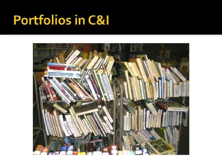 Digital Portfolios Made Easy in C&I at UNI Slide 2
