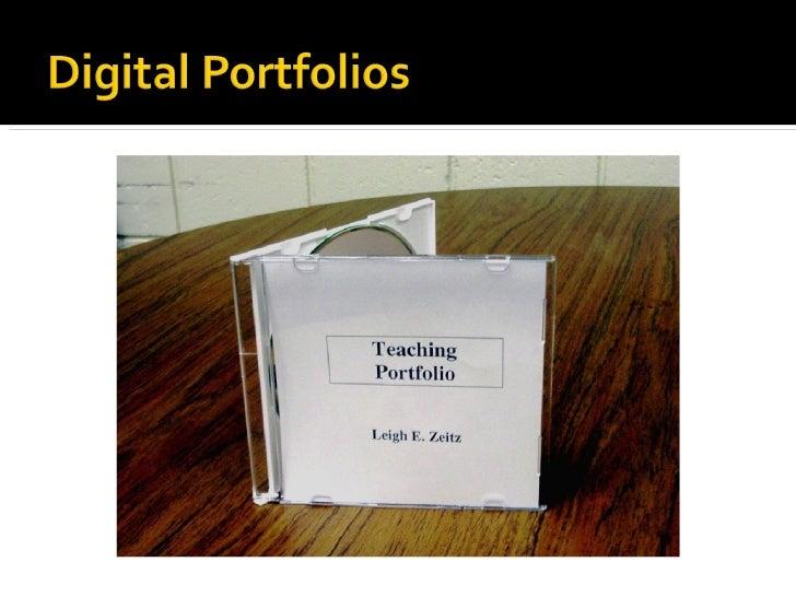 Digital Portfolios Made Easy in C&I at UNI Slide 3