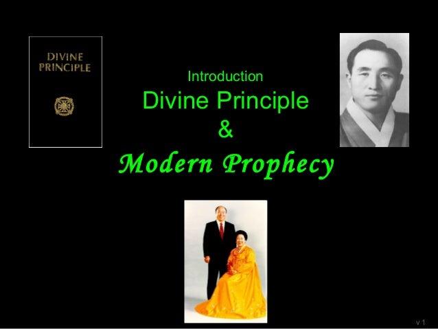 A modern prophecy