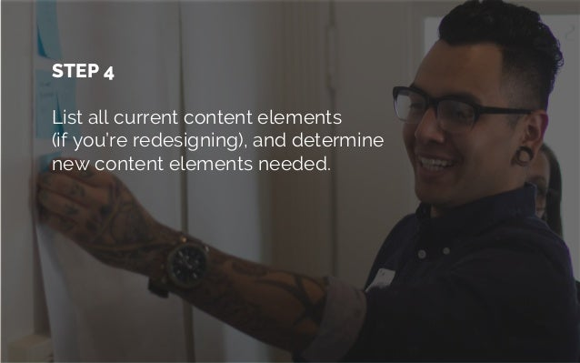 YOU COULD EVEN Map content to visual hierarchy (wireframe sketch)