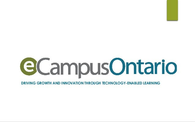 DRIVING GROWTH AND INNOVATION THROUGH TECHNOLOGY-ENABLED LEARNING