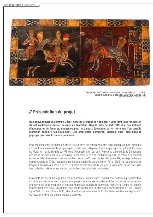 // Présentation du projet Que peuvent avoir en commun César, Anne de Bretagne et Napoléon ? Sans jamais se rencontrer, ils...