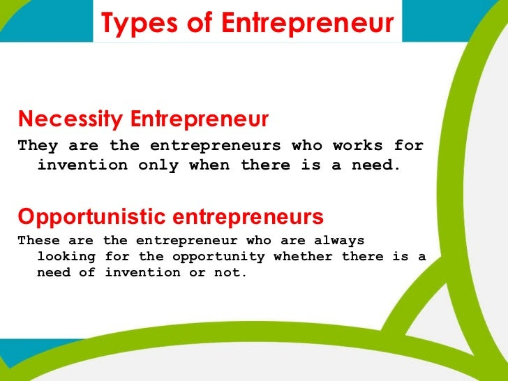 Introduction of entrepreneurship.