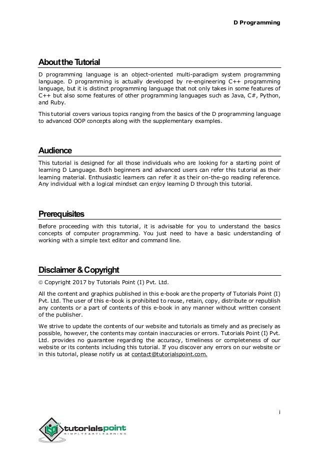 Algorithms tutorial point pdf