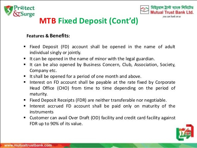 mutual trust bank dps scheme