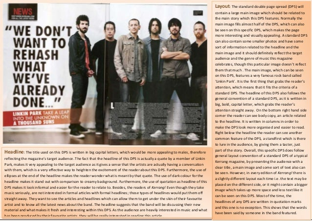 Layout: The standard double page spread (DPS) will                                                                        ...