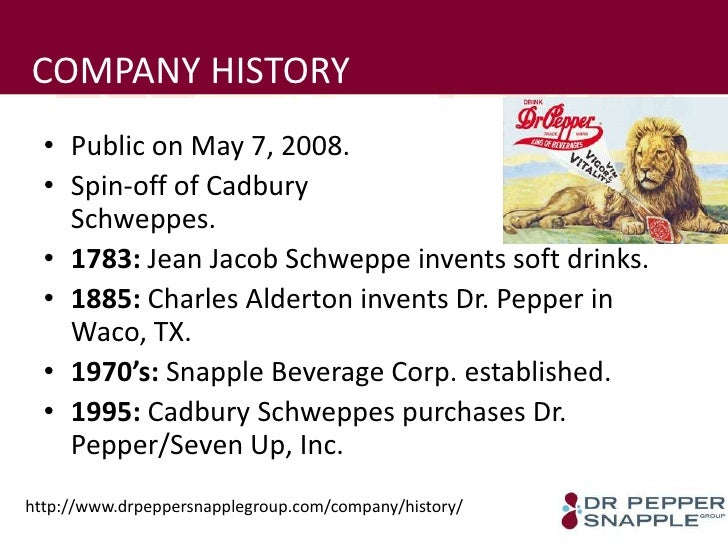 dr pepper snapple group inc is Leading with flavors our success is fueled by more than 50 brands that are  synonymous with refreshment, fun and flavor learn more company - investing  in.