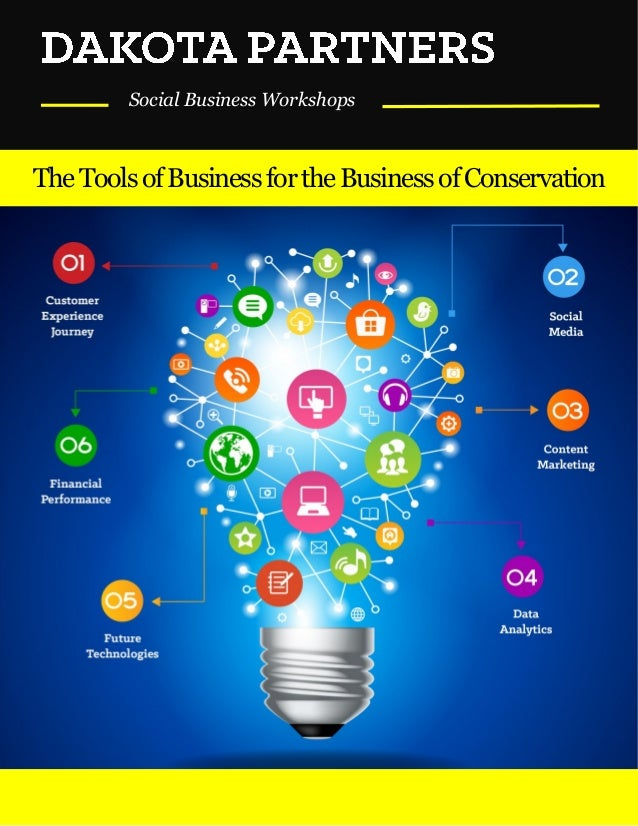Social Business Workshops TheToolsofBusinessfortheBusinessofConservation