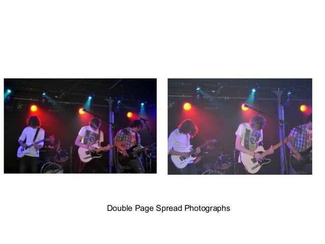 Double Page Spread Photographs