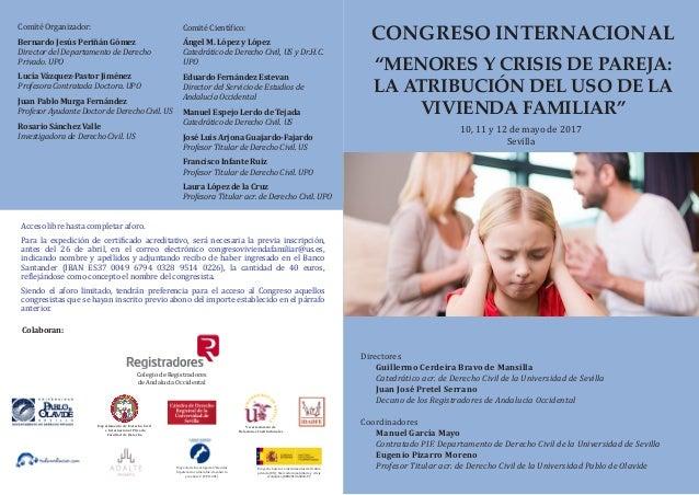 Directores Guillermo Cerdeira Bravo de Mansilla Catedrático acr. de Derecho Civil de la Universidad de Sevilla Juan José P...