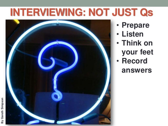 Start Interviewing