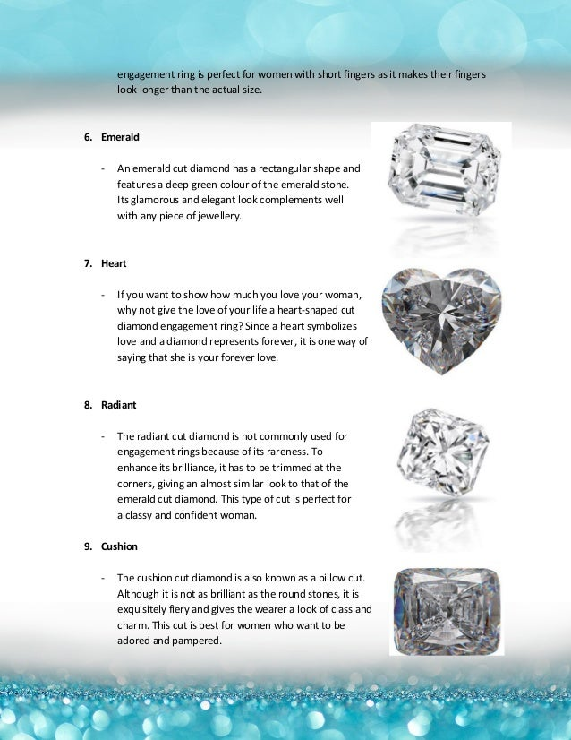 10 Types of Diamond Cuts for Engagement Rings