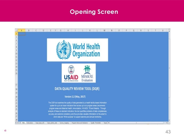 43 43 Opening Screen